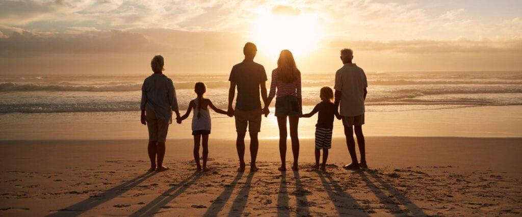 A strong family bond using social skills
